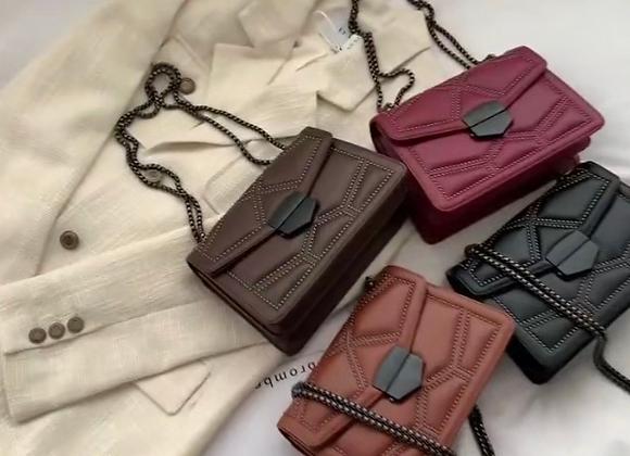 Drip River Leather Shoulder bag