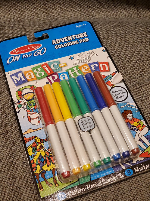 On the Go Coloring Pad - Melissa & Doug