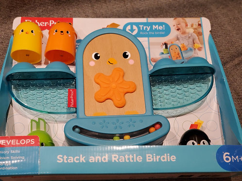 Fisher Price Stack & Rattle Birdie