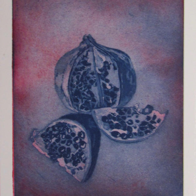Pomegranate in shades of Aurora Leigh