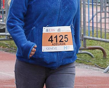 Dossard Meyrin Run