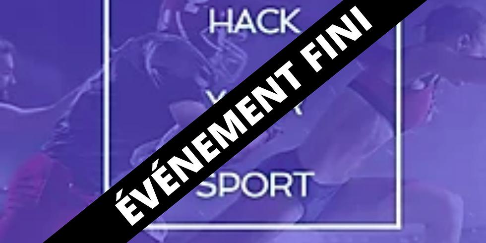 Hack Your Sport : Hackathon de l'innovation dans le sport