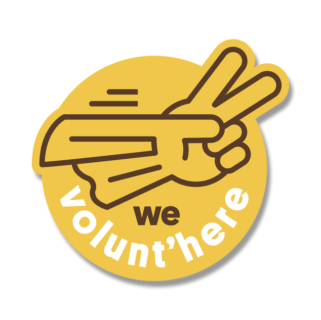 #WeVoluntHere EN