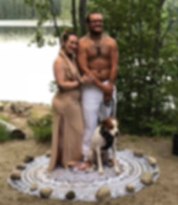 Wiccan wedding in Vermont