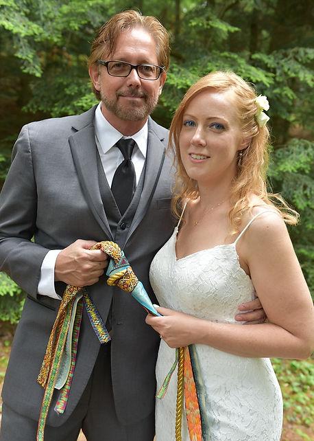 Handfasting wedding in Vermont