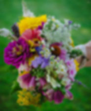 Vermont Wildflower Wedding bouquet