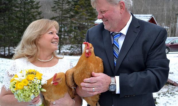Vermont Wedding Couple
