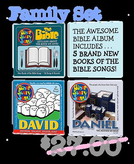 CDs: 3 CD Old Testament Men & The Bible