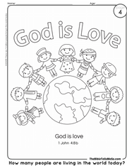 A04 TOPIC 1 - God is - COLORING 3 -Love - The Bible Tells Me So.png