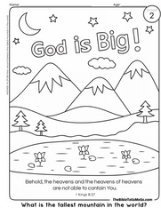 A02 TOPIC 1 - God is - COLORING 1 - Big - The Bible Tells Me So.png