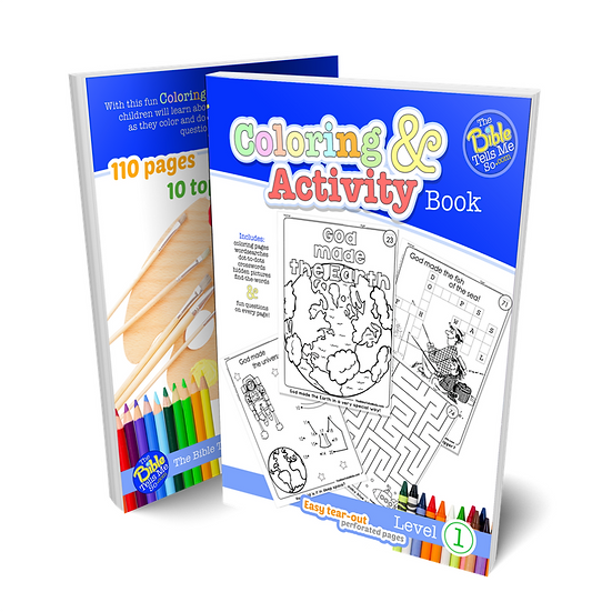 Coloring and Activity Book - Level 1