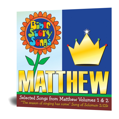 CD: Selected Songs from Matthew Vol. 1 & 2