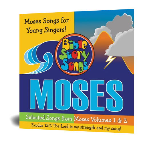 CD: Selected Songs from Moses Vol. 1 & 2