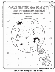 A14 TOPIC 2 - God Made the Universe - COLORING 2 -The Moon - The Bible Tells Me So.png