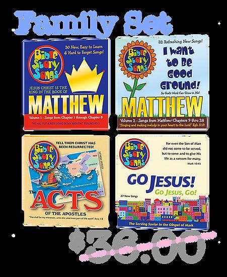 CDs: 4 CD New Testament