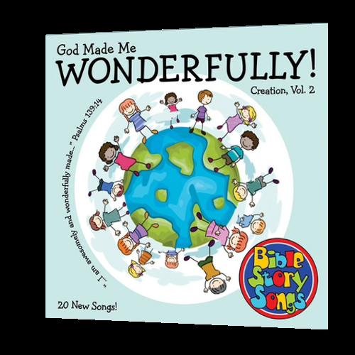 CD: God Made Me Wonderfully!