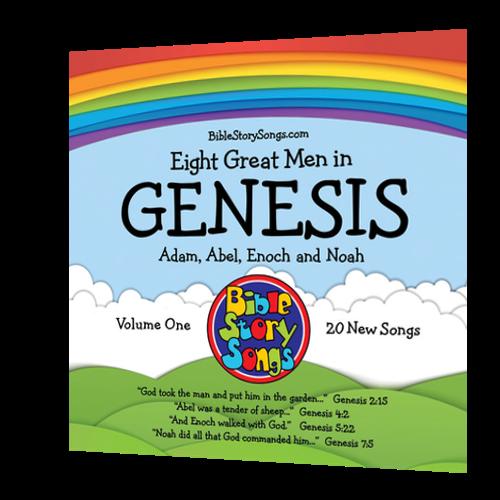 CD: 8 Great Men in Genesis, Vol. 1