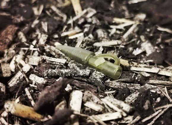 Clip plombs avec goupille vert x 10