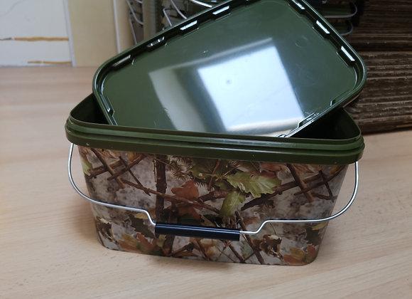 Sceau bucket camo avec couvercle