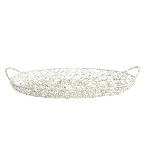 MARGARET/48 Fruit Basket 白色水果籃