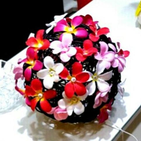 Flower light & Rattan basket 花燈及藤籃 F03,B03