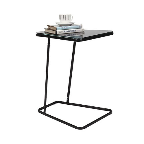 COLONY Side table painted glass