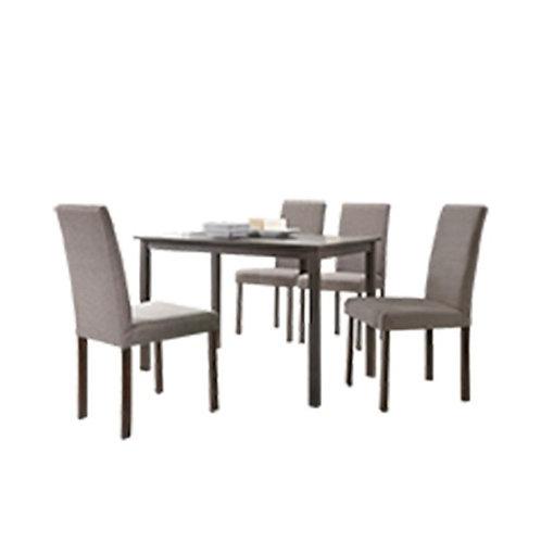 LUIS Wood dining set