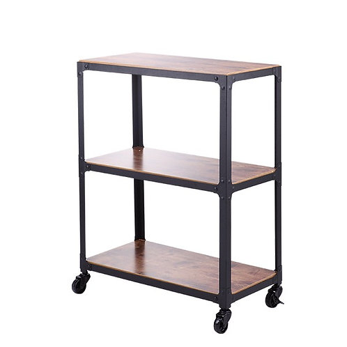 LVIRA 3 Tiers shelf with wheel