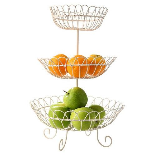 O-RING 三層水果籃