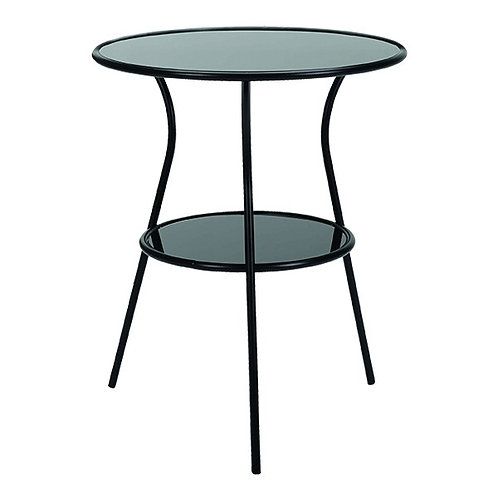 WINNER GUSTE Side table round glass