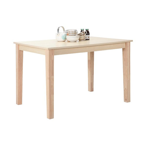 RAYMOND/P Wood dining table 120X80 cm