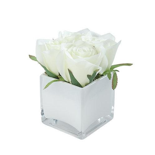 MEIXI Rose in glass