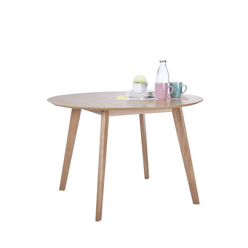 LINA Wood round dining table