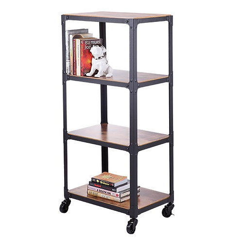 ELVIRA 4 Tiers shelf with wheel