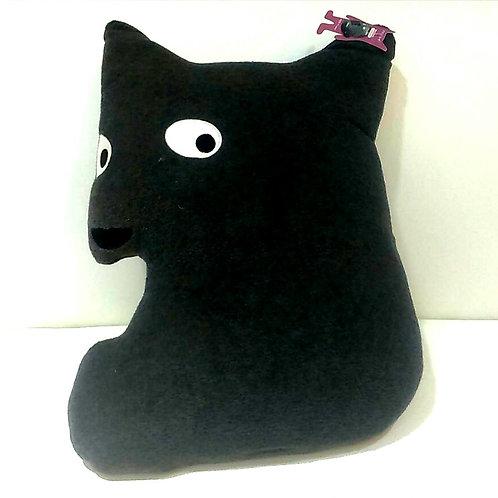 Dog Black Cushion 黑色狗咕臣