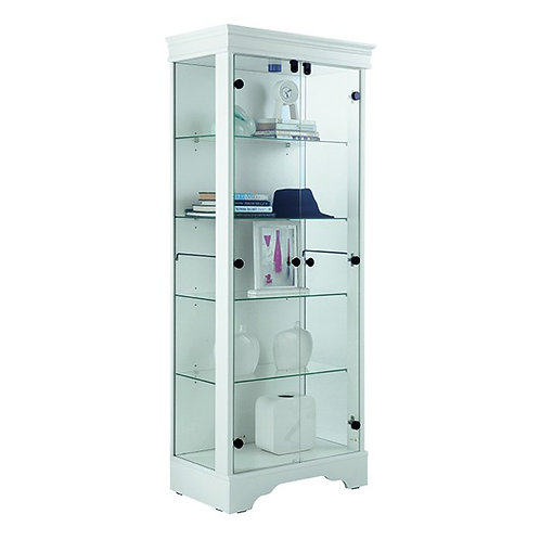 LA-BEAUTE Show cabinet glass 2 doors