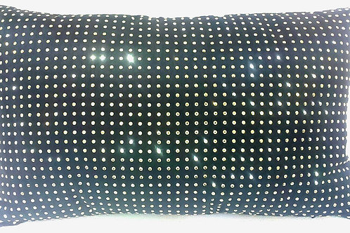 FINELA Cushion with filling 長方咕臣 (黑)