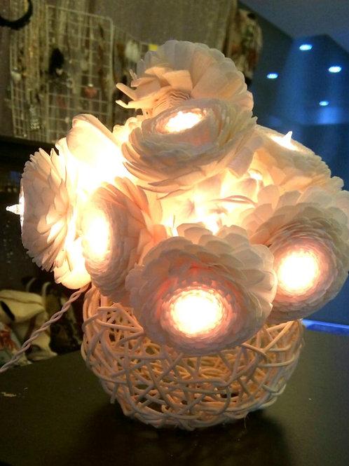 Flower light & Rattan basket 花燈及藤籃 F02,B02