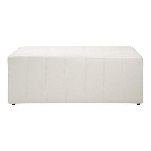 CUBIC/2 stool bi-cast white