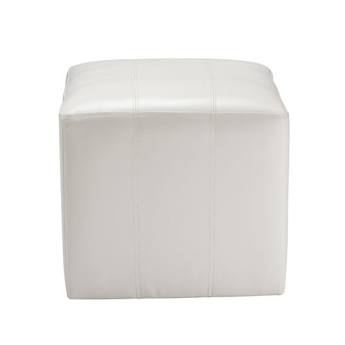 CUBIC/1 stool bi-cast white