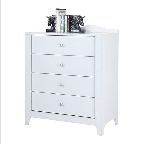 RIVA 4 drawer 80 cm白色四層抽屜櫃