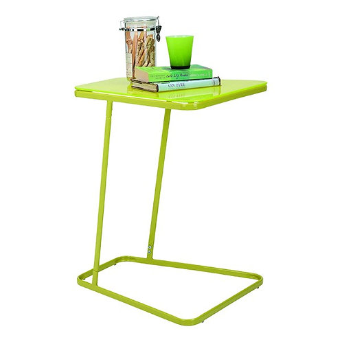 WINNER COLONY Side table painted glass