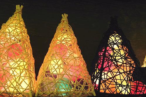 Flower light & Rattan basket 花燈及藤籃 F04,B04