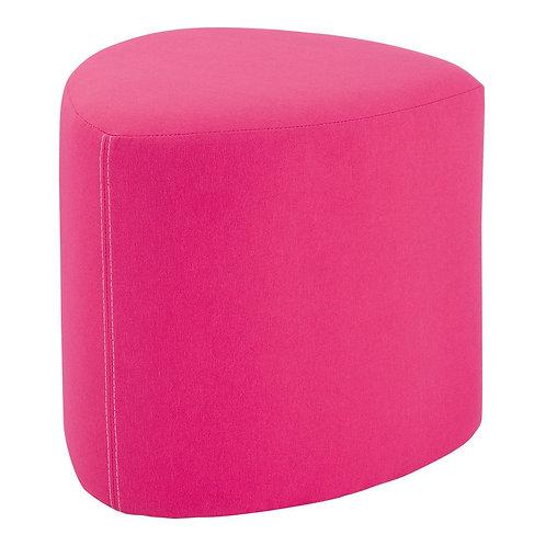 LAYLA Fabric Stoo 心形粉紅色布凳