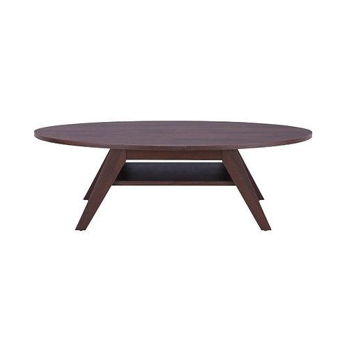 VACKER Oval coffee table 120x60 cm