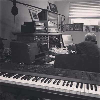 Saturday morning recording session with my Godfather Phil.  Great times making music and hanging out with one of my favorite people.