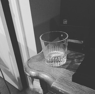 An empty glass of Scotch means we're done!  :D