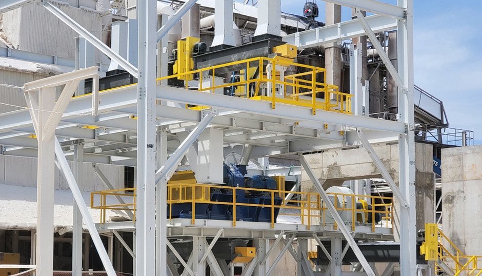 Hydrated Lime Processing Plant