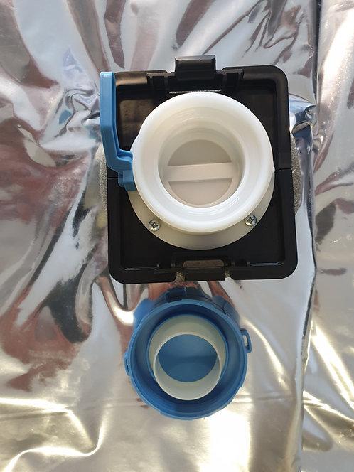 "Aseptic 2"" BSP inlet/DN50 outlet/MET/PET"