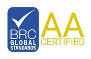 BRC AA Certified